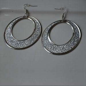 Mooie moderne ronde bling bling oorbellen online kopen