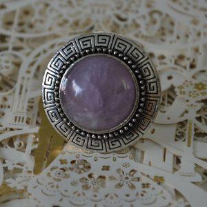 Paarse luxe grote ronde ringen